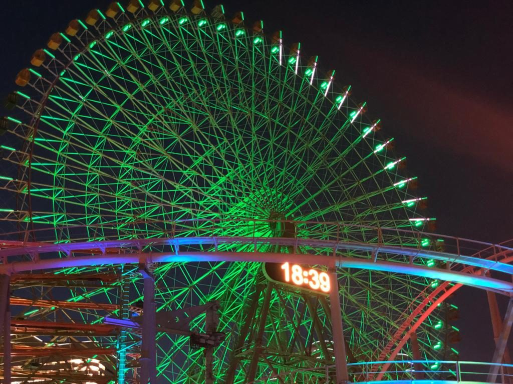 CLOCK FERRIS WHEEL Yokohama in 1 day