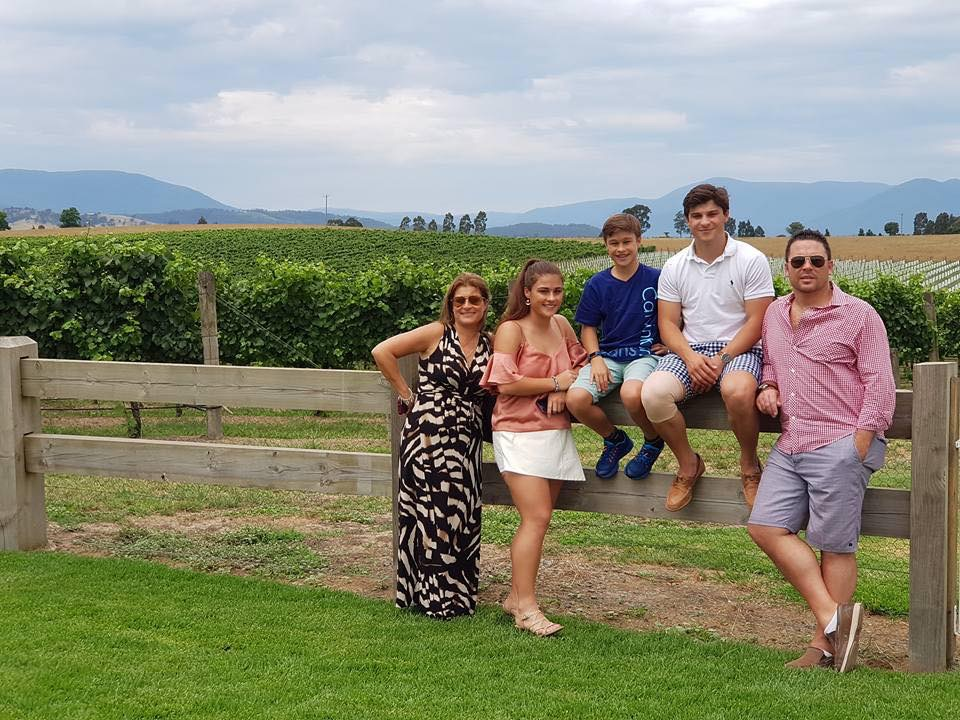 Yarra Valley everybody under one roof