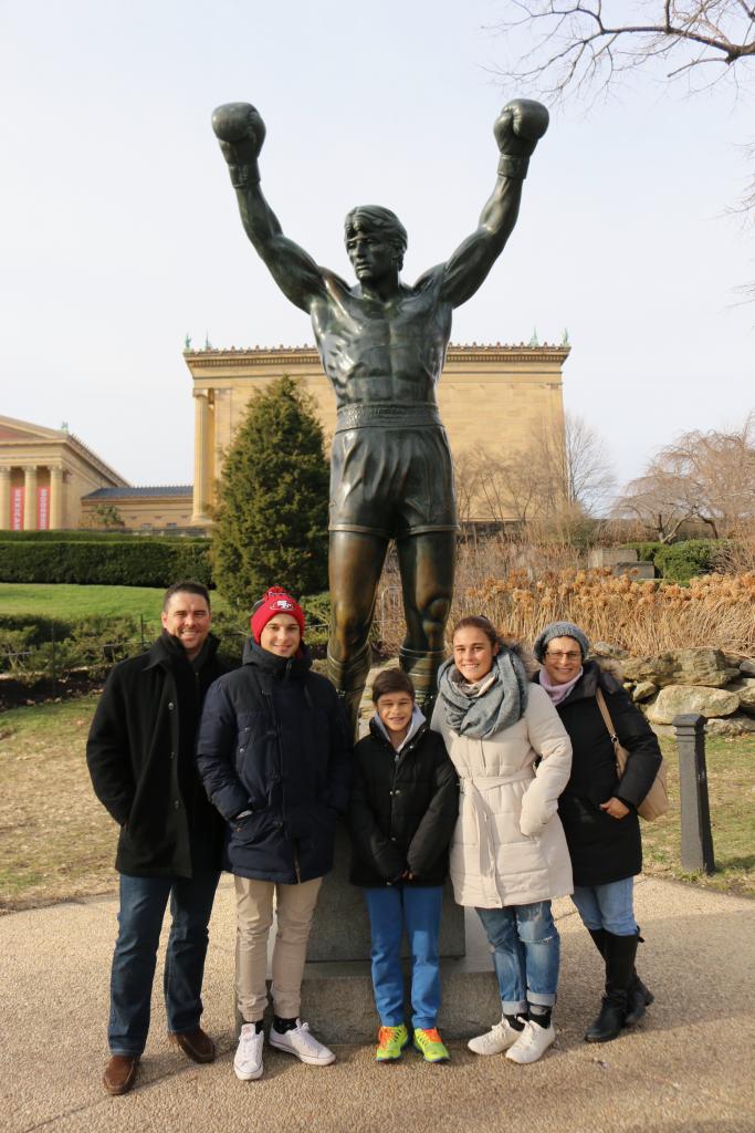 Rocky statue. Philadelphia