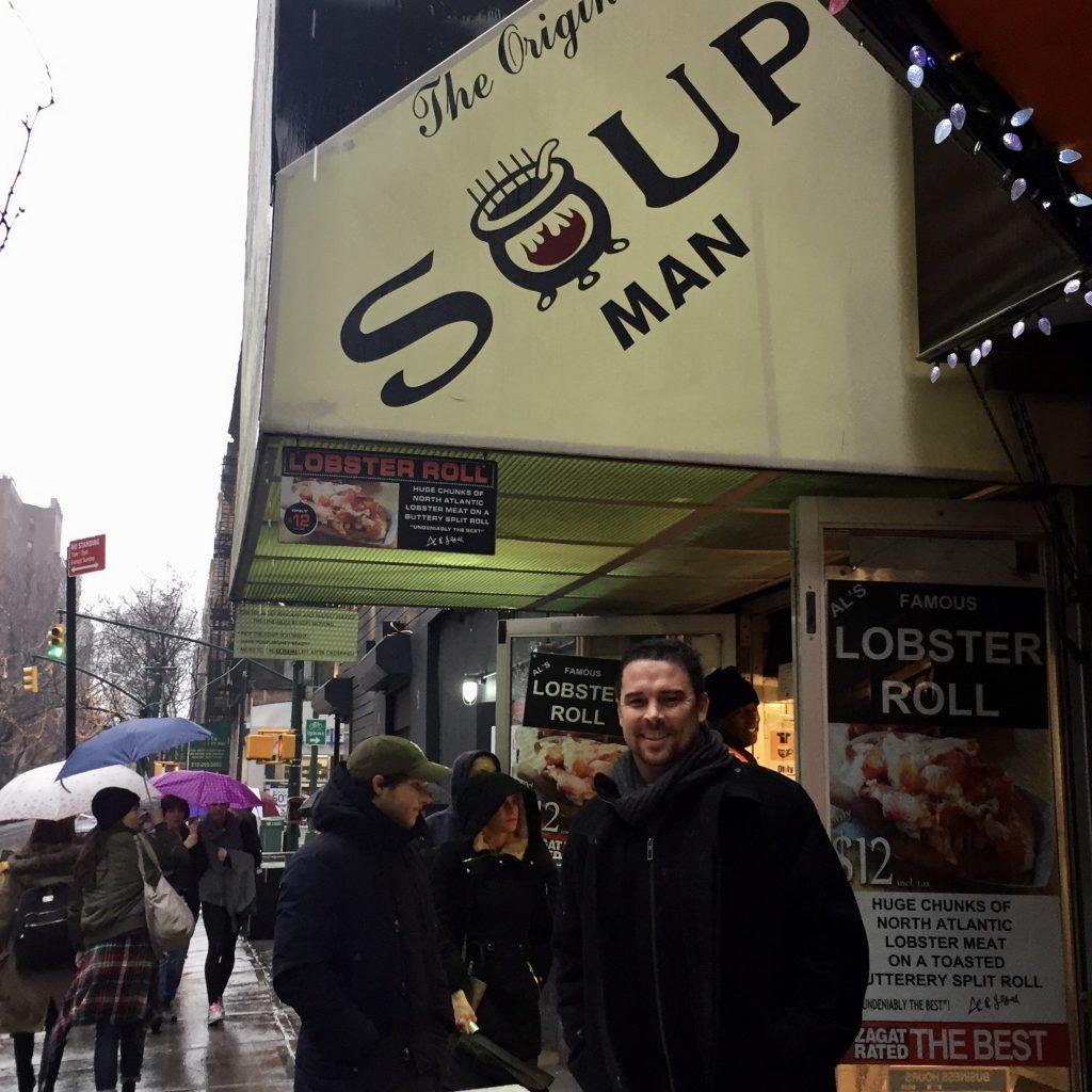 The Original Soup man New York