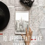 10 apps that make travelling easier