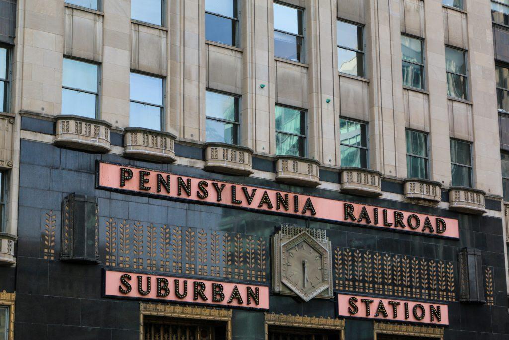 PENNSYLVANIA RAILROAD Philadelphia in 1 dayu