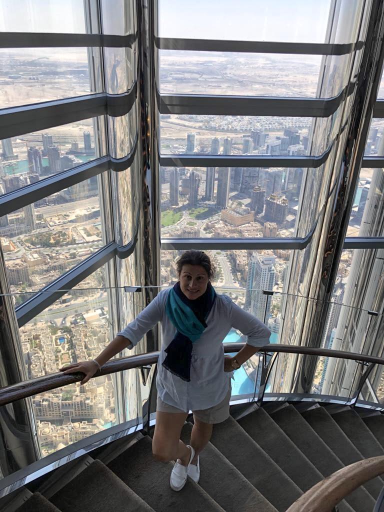 Burj Khalifa Steps Burj Khalifa
