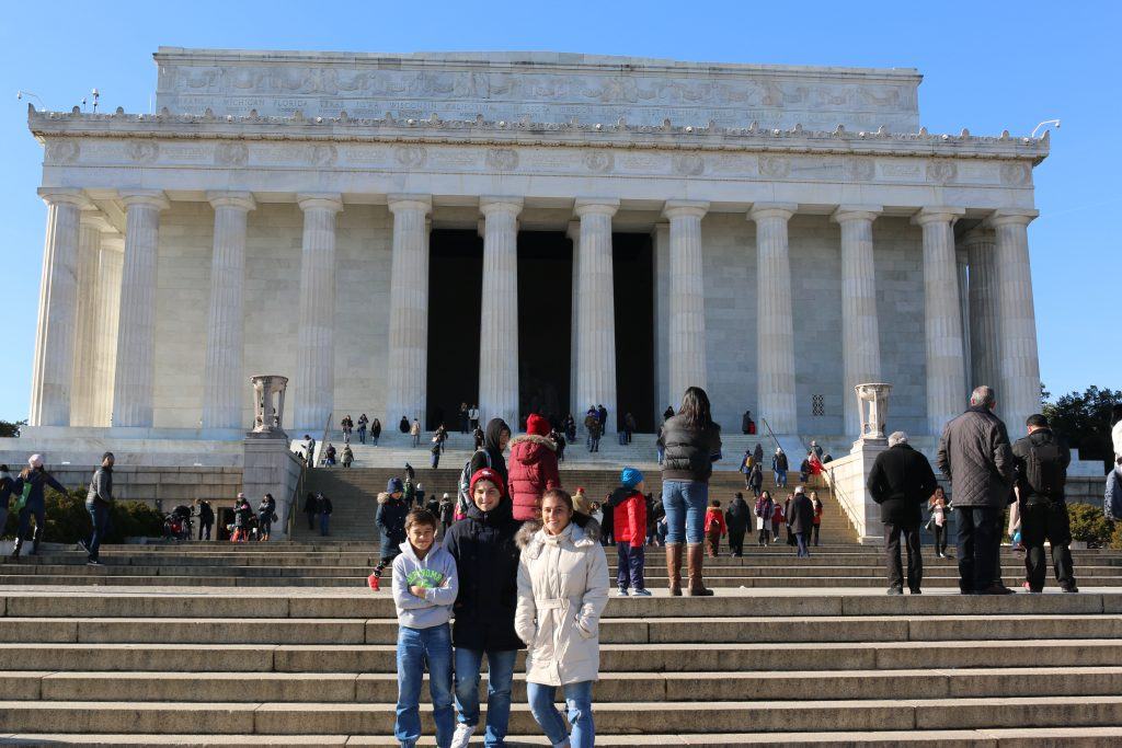 Lincoln memorial Washington d.c