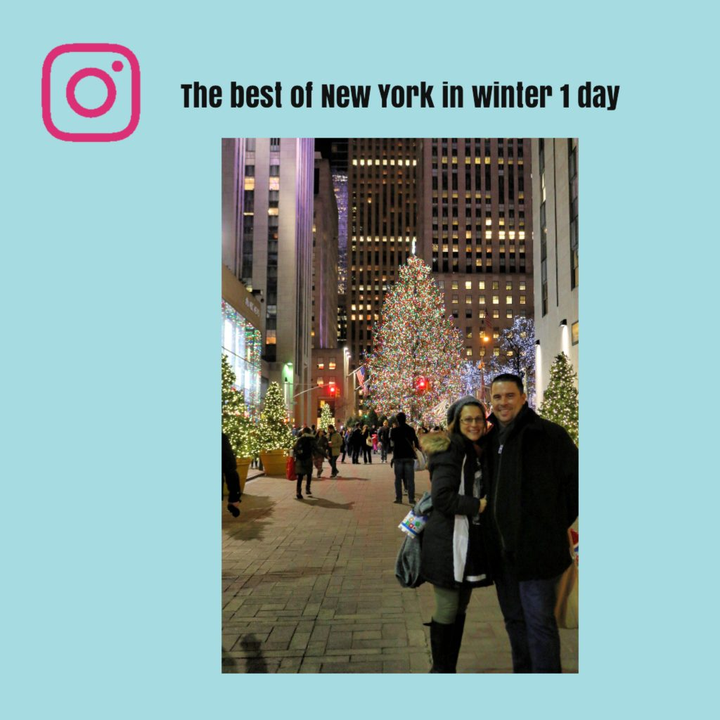 the best of New York in winter in 1 day