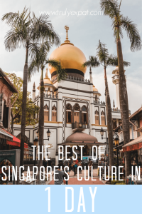 The best of Singapore culture in 1 day