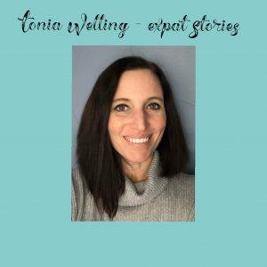 Tonia Welling expat stories during Coronavirus