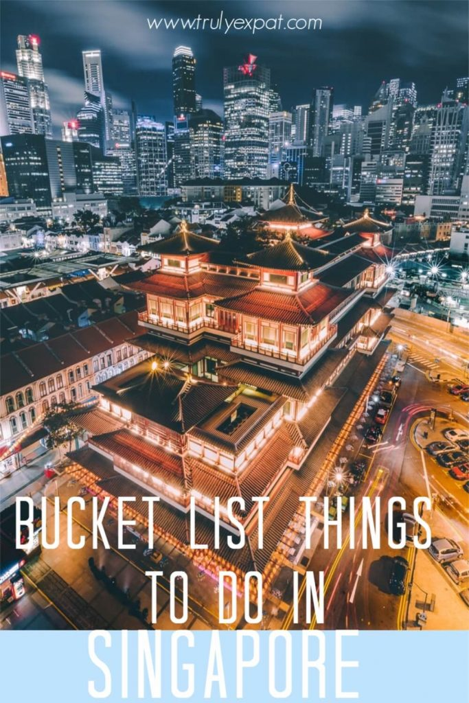 bucket list things to do in singapore