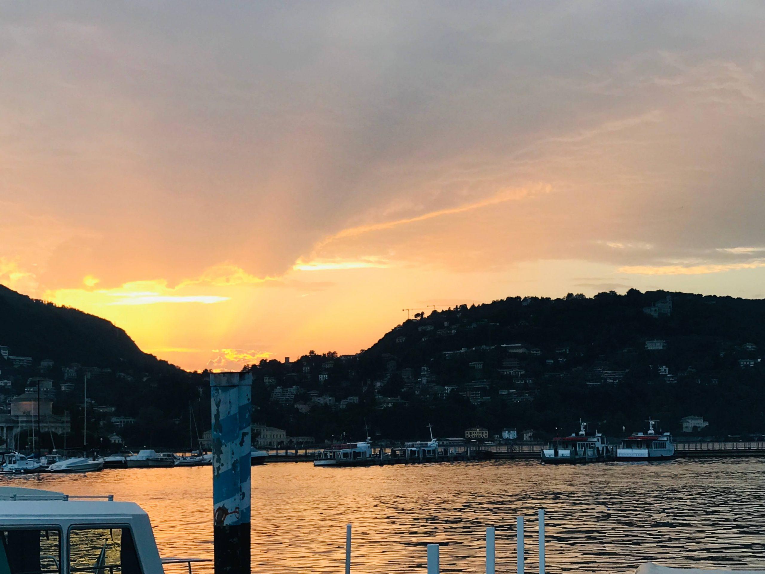 como sunset