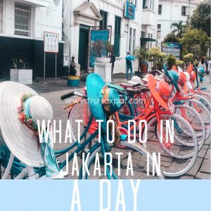 what to do in jakarta in a day