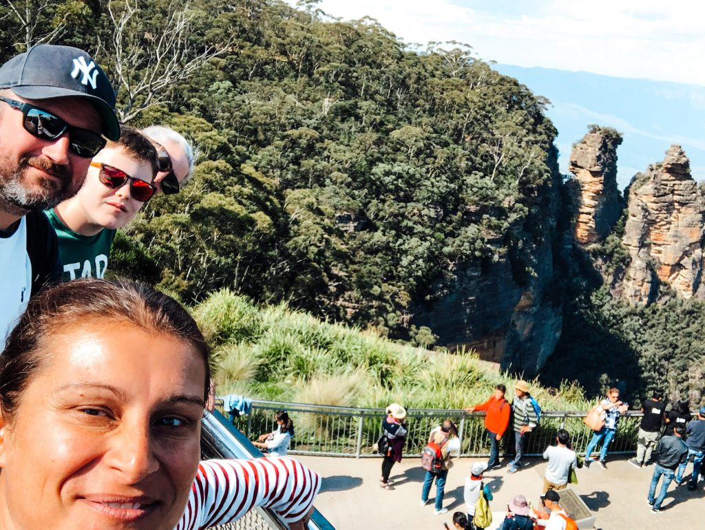 Katoomba to visit for the weekend from Sydney