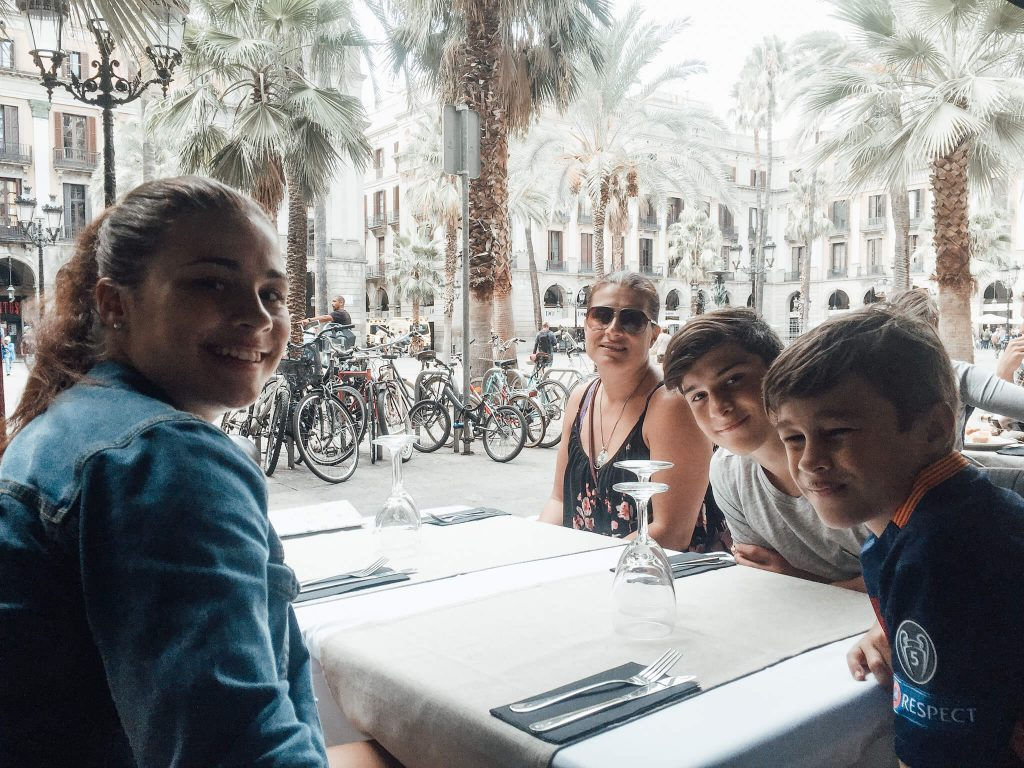 vacation in Barcelona