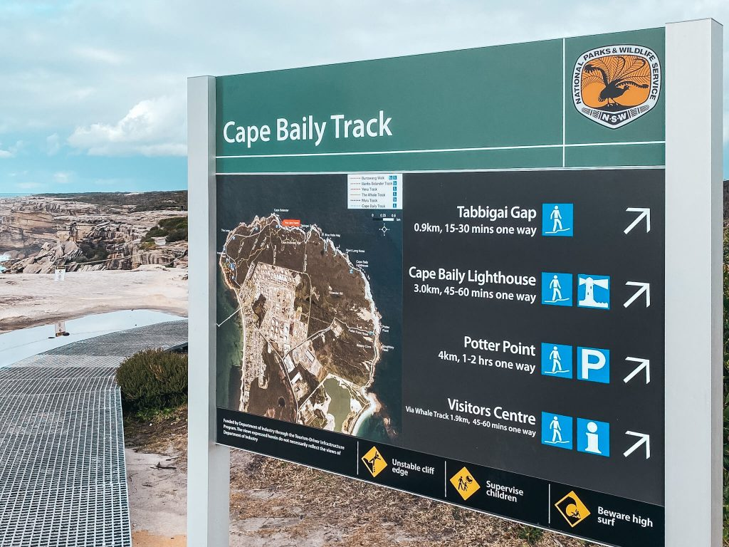 Cape Bally Lighthouse track