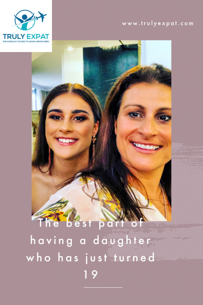 a daughter who is 19
