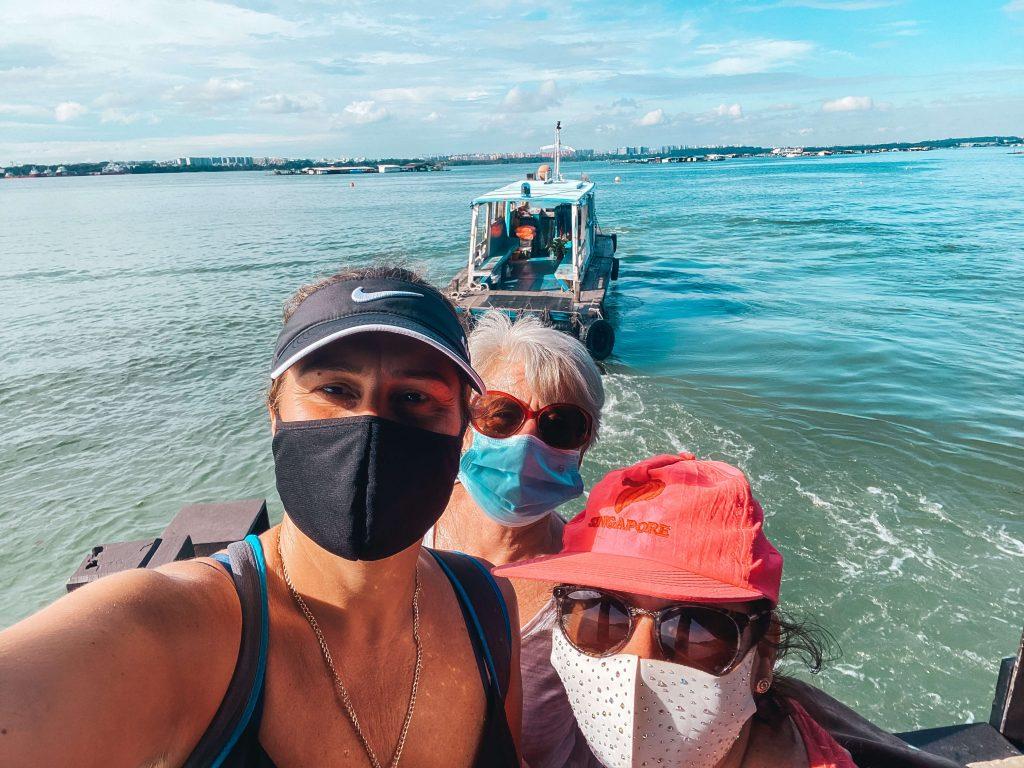bumboats in pulau ubin