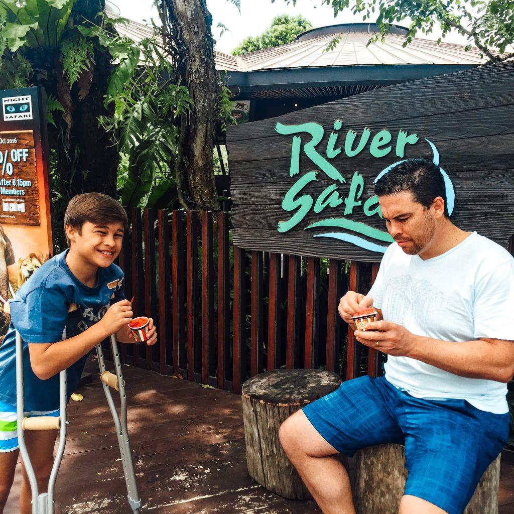 River Safari Singapore school holidays