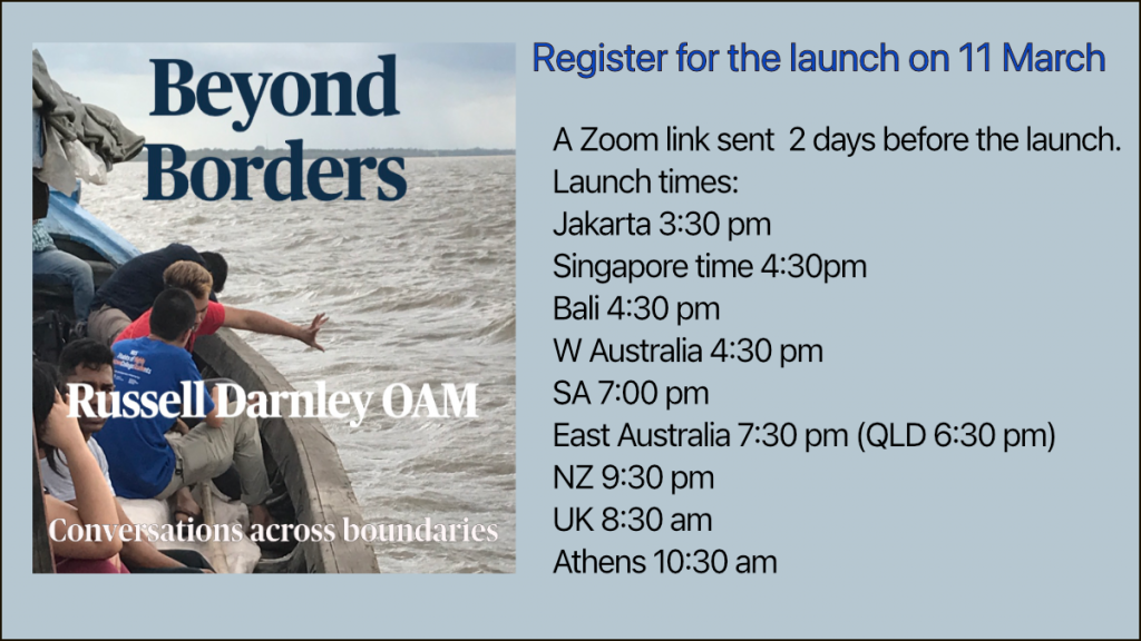 Register for Beyond borders book launch here