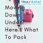 Moving down under?