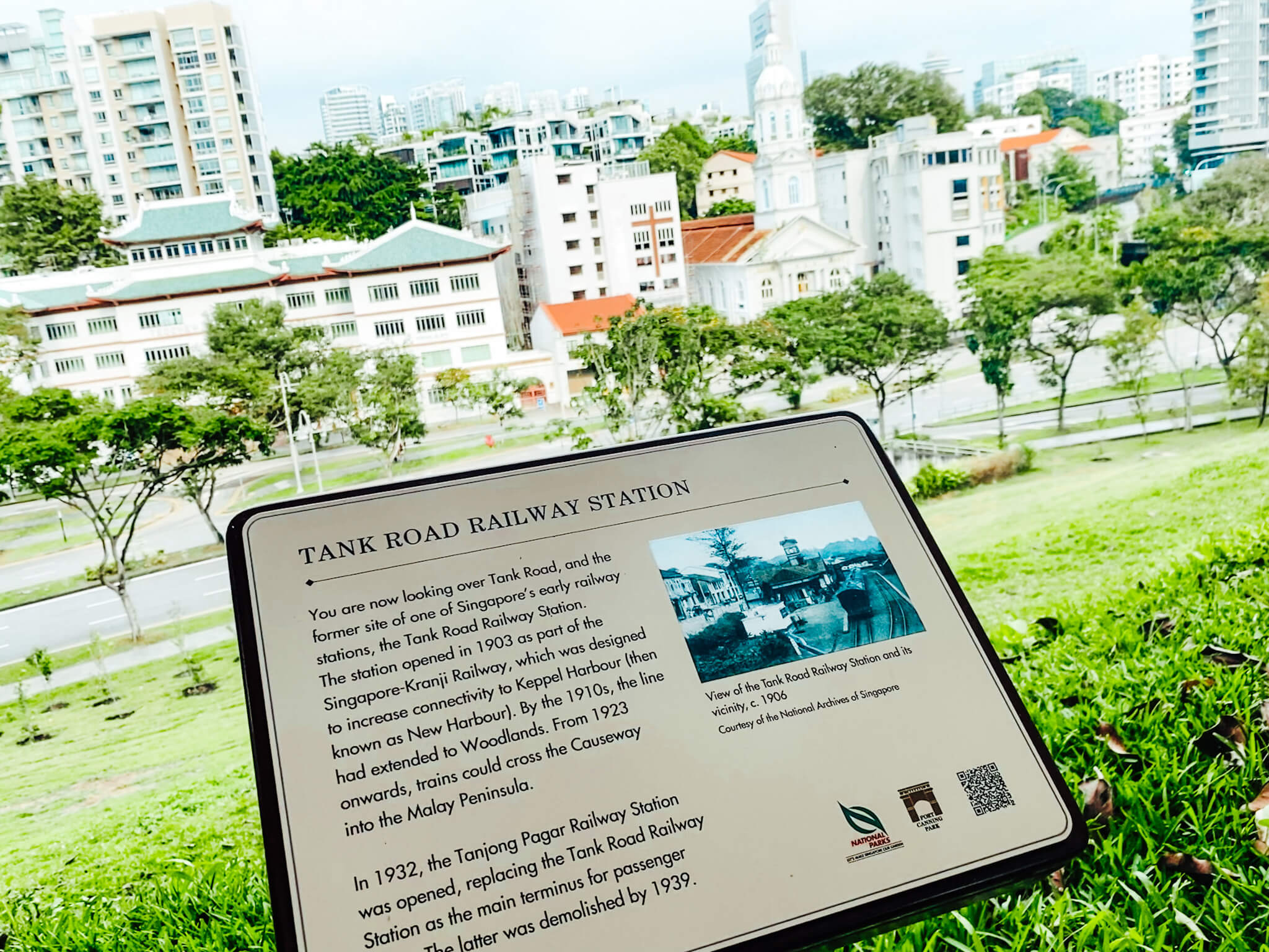 Fort Canning view