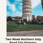 Two weeks northern italy road trip itinerary