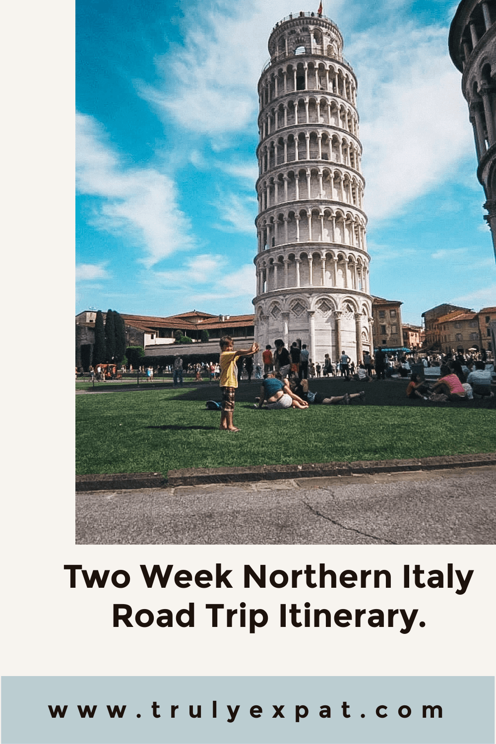 Two week Northern Italy road trip itinerary
