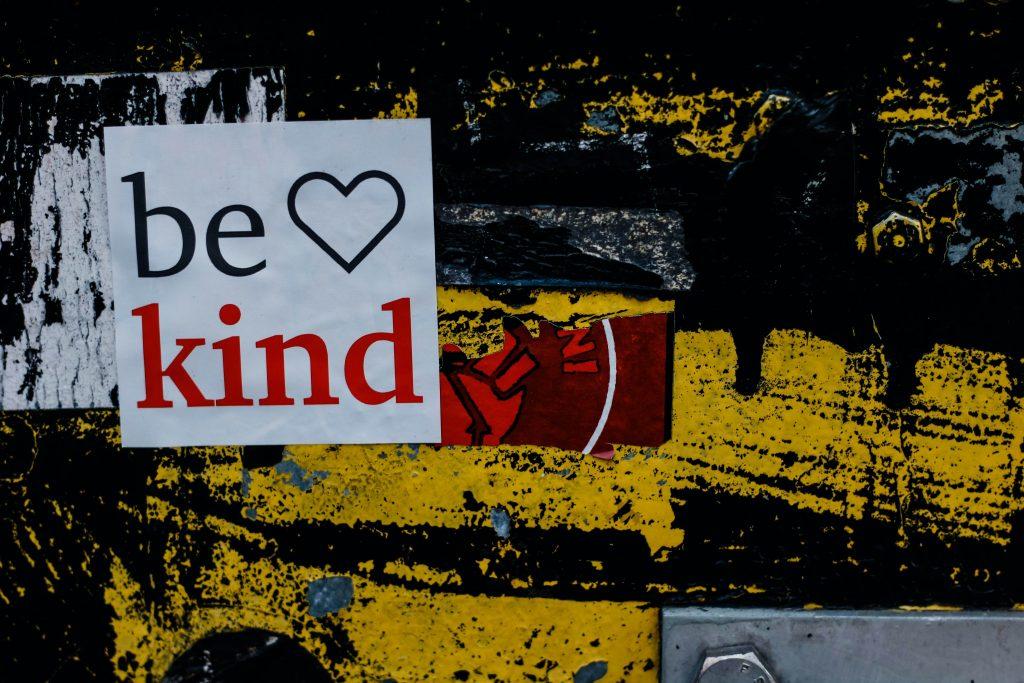 Being kinder